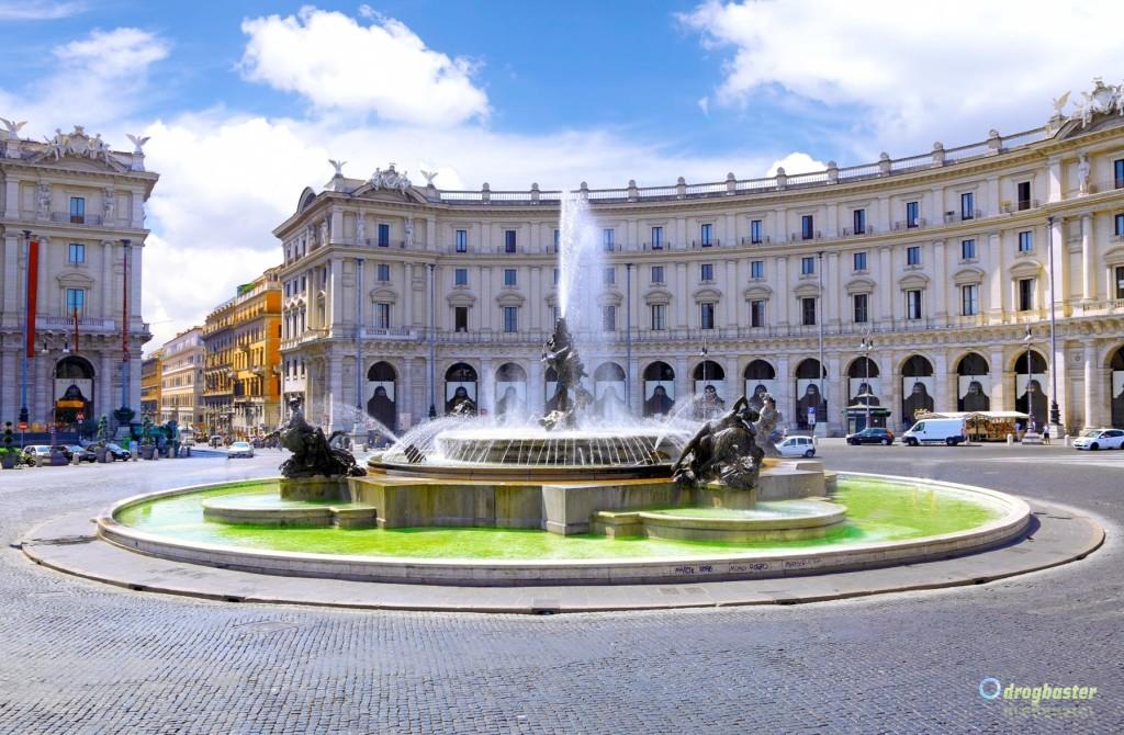 Roma Piazza della Repubblica babbo b&b